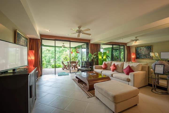 Wonderful 1 Bedroom Garden View Over Kata Beach