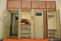 The bedroom comes with spacious wardrobes, your own private washroom and Air-conditioning to keep you cool!