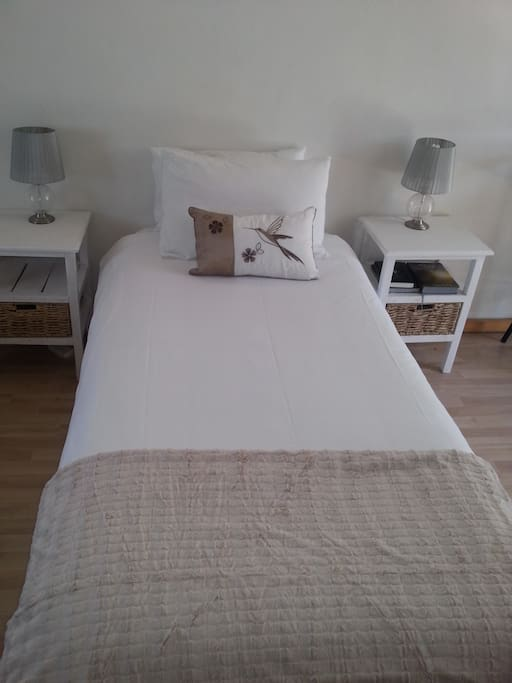 Single beds can be converted to a kingsize bed on request