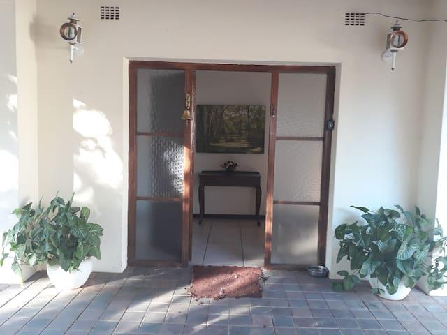 The Entrance into the Chinhoyi Tree House,