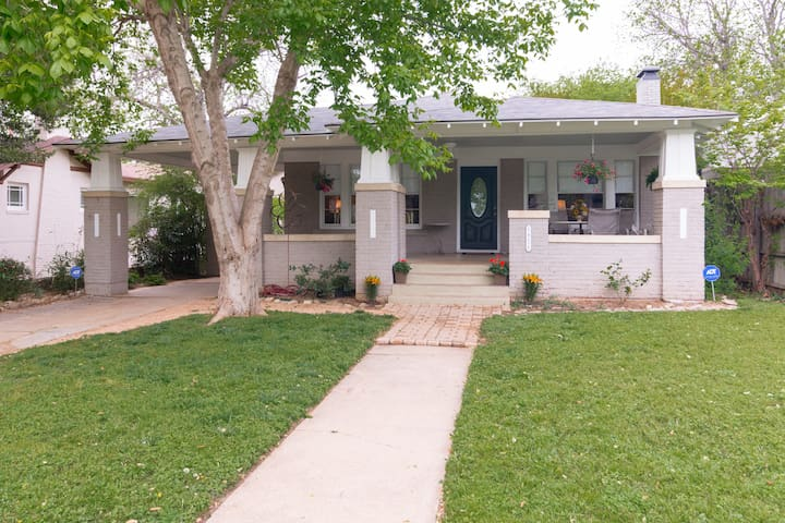 Charming Bungalow-Cultural District - Fort Worth - Huis