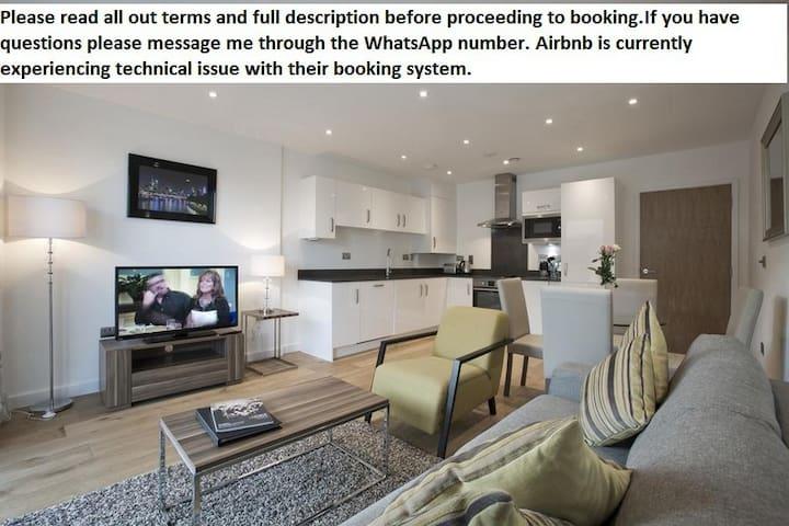 Amazing 3 bedrooms apartment Wifi & NetFlix