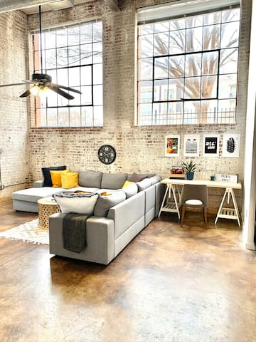 Urban Luxury Loft Grant Park Atlanta
