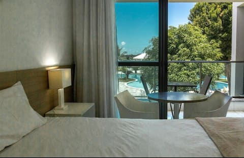 Iloa Resort: Lindo apartamento e ótima estrutura