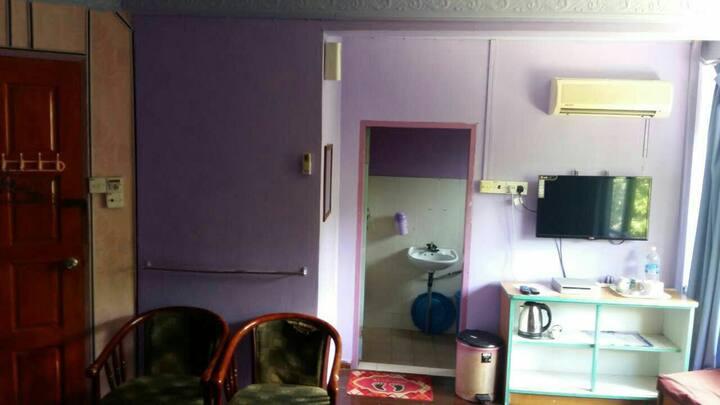Master bedroom at Sabah baru Motel