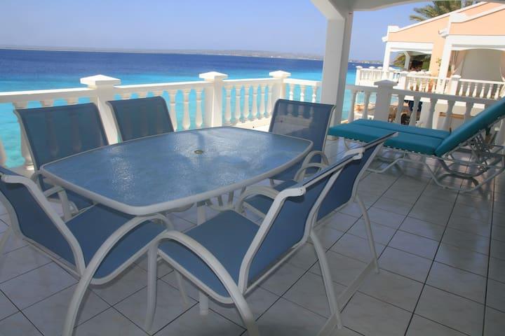 Belair Oceanfront Condo (# K) in Bonaire - Kralendijk - Condominio