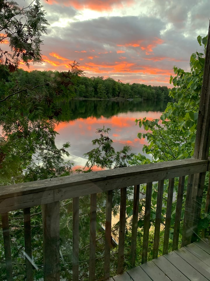 Cottage on Private Island Big Rideau Lake - Cabins for ...