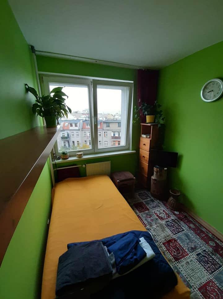 Wrocław, osobny pokój 1-2 os, 700m od Sky Towera
