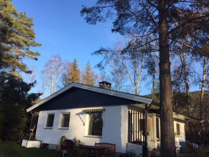 Small house in Bærum,  outside Oslo and Sandvika