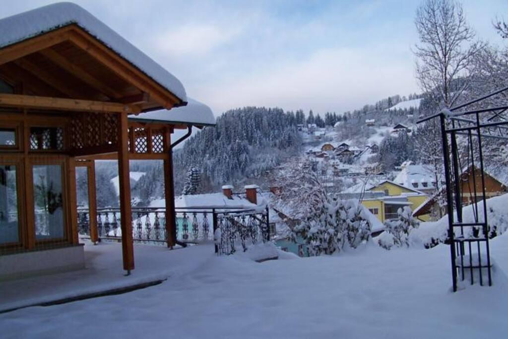Winter Alpenpension Weltsprachen