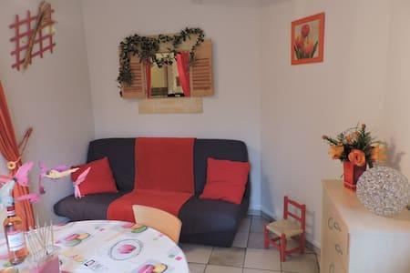 Appartement duplex, douillet dans résidence calme