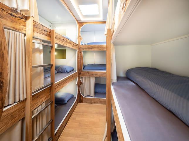 Aussergewöhnliche Gruppenunterkunft mit 18 Betten!