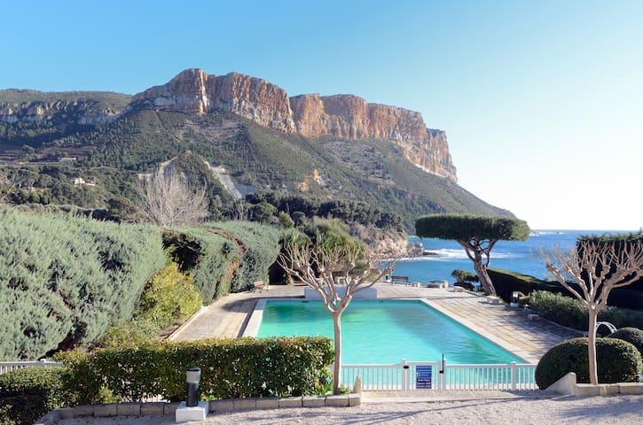Cassis cadre idyllique accès mer - Cassis - Appartement