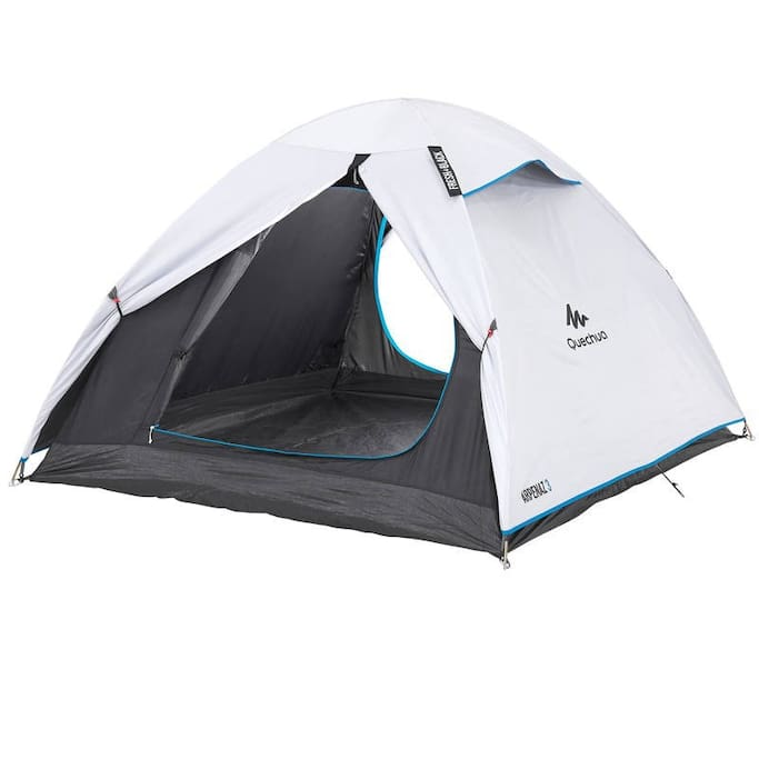 Brand new tent with coolness and darkness design for complete sleep - 3 people
