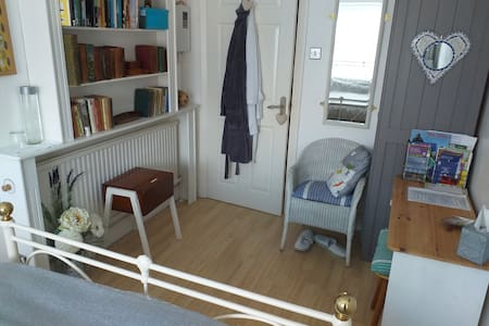 Lovely double room , free parking .