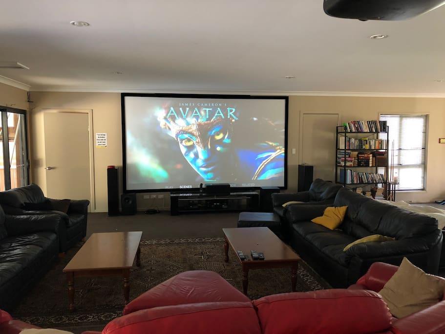 155 inch home theatre