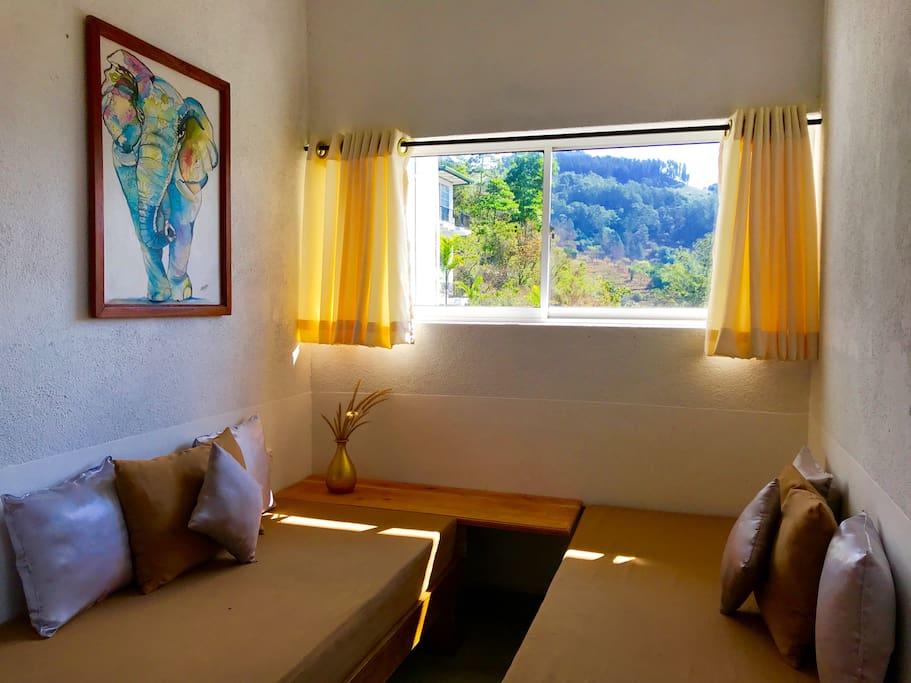 Suite room sitting