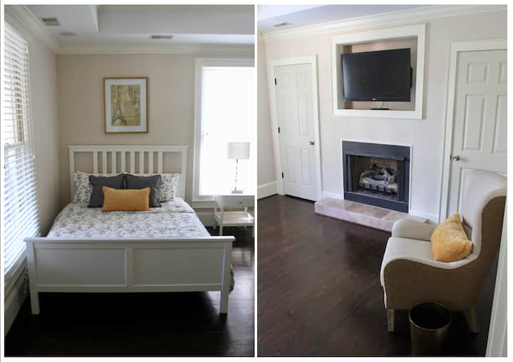 Charming 2BR executive rental; ~1 mile 2 downtown!