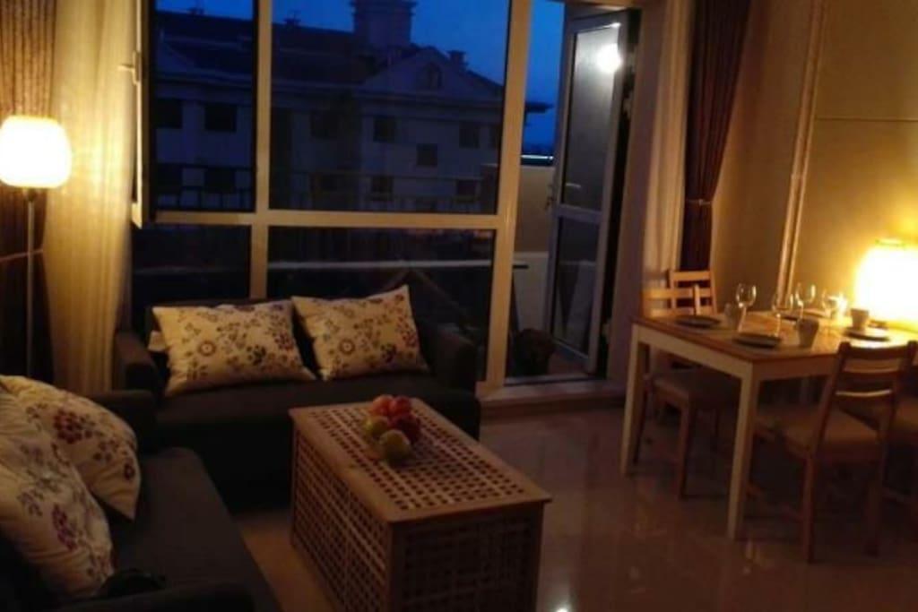 全套宜家家居和小米装备的客厅!
