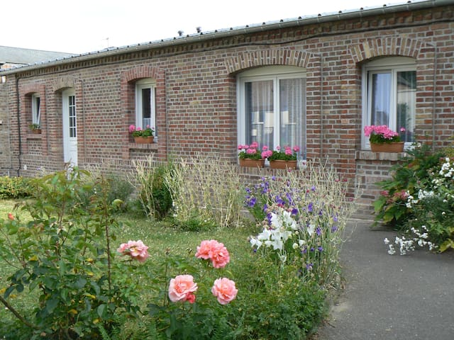 Jolie maison*** , 37m2, à 2mn d'Amiens, plain-pied