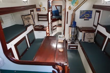 Living on a boat in Magdalen Island:the real deal! - Étang-du-Nord - Vaixell