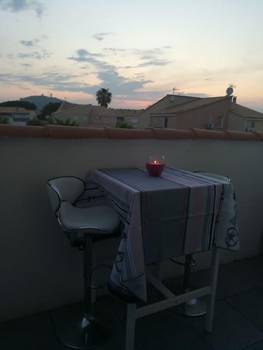 terrasse extérieure 9 m2