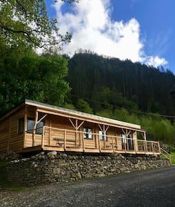 Ty Coed Lodge - Cabin Gwynedd, Snowdonia, Wales