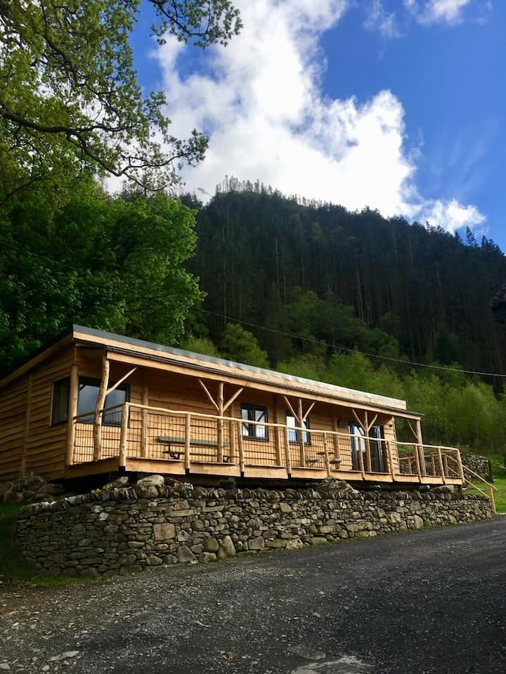 Ty Coed - Cabin Gwynedd, Snowdonia, Wales