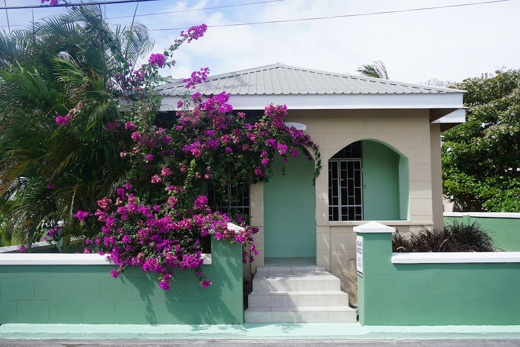 Bajan Breeze Guest House.  Welcome.