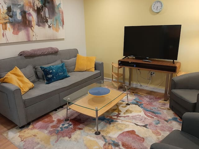 Boutique condo near downtown - 2nd floor stairs