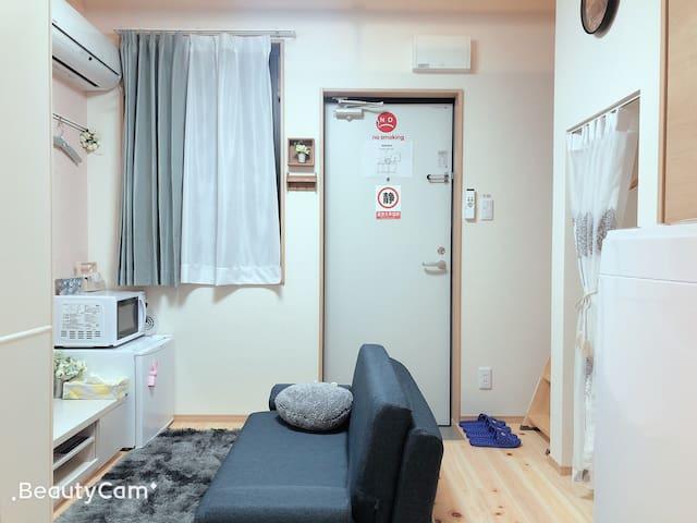 4分钟直达新宿新建旅馆Urban place 205