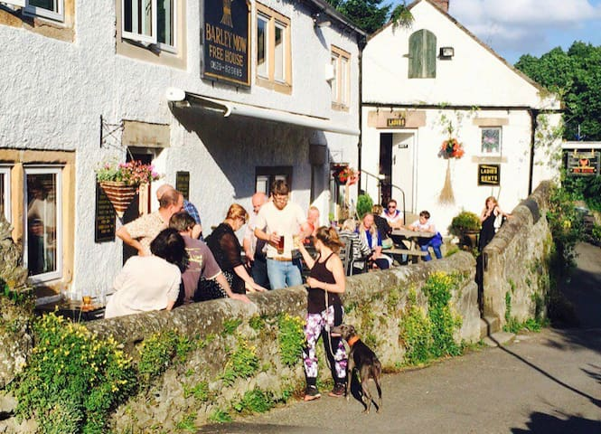 Rural pub with its own brewery and big personality
