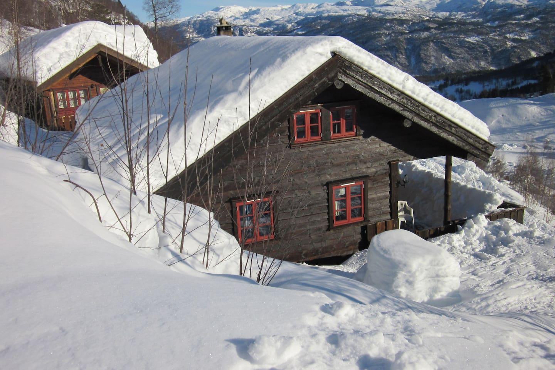 Airbnb: topp 20 etne hytteutleie   airbnb etne: etne hytter