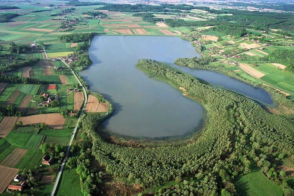 Artifical lake Lendava
