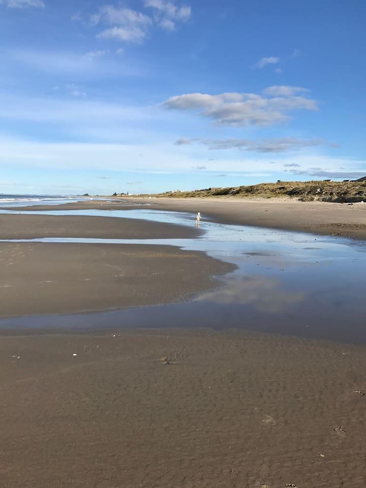 Beach Life - view from the closest beach access (1 minute walk)
