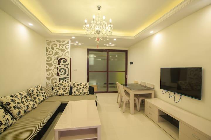 三亚山海韵·龙栖湾180度海景房(两室一厅) - Ledong - Apartamento