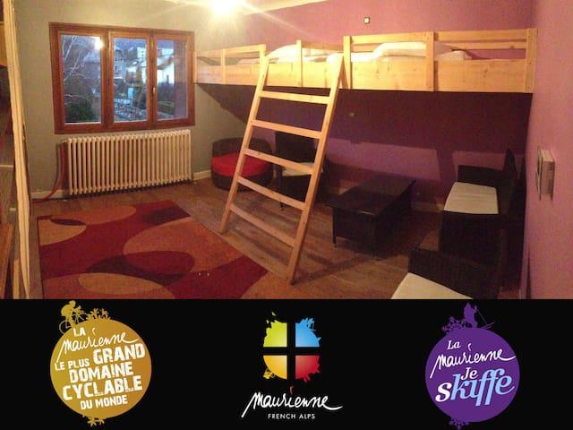 Chambre privée 2 lits simples - Saint-Jean-de-Maurienne - Flat