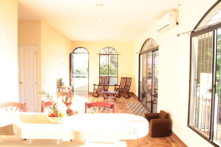 New house, 3 rooms with A/C in the city center - San Juan del Sur - Daire