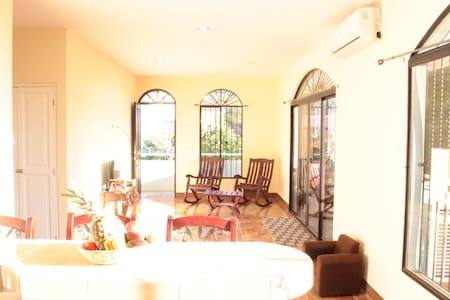 New house, 3 rooms with A/C in the city center - San Juan del Sur - Huoneisto