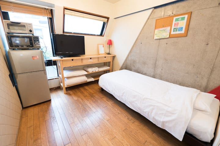 2F 3 min walk from Yamanote line