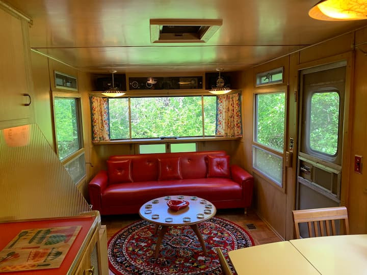 The Mansion Vintage Trailer at Tin Can Acres