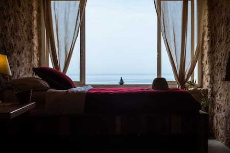 "Bedroom ""AFTAS""@Ecolodge l'Ane Vert - Centre commune Tafedna - Jordhus"
