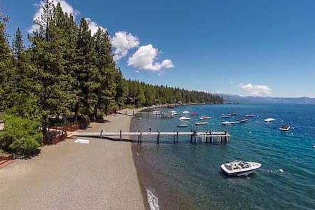 Tahoe Park Bears Tavern Private HOA- walk to beach - Tahoe City - Σπίτι