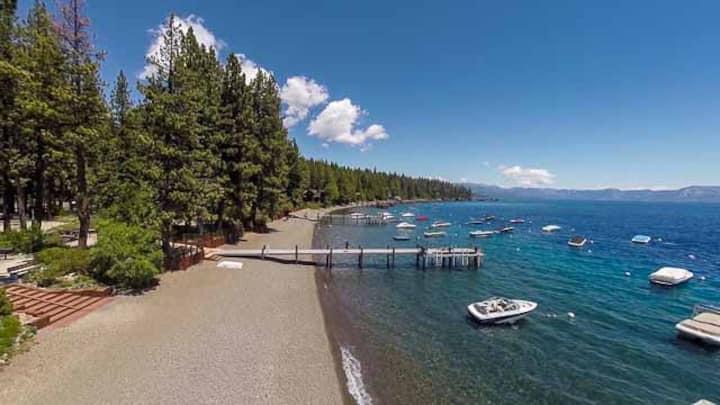 Tahoe Park Bears Tavern Private HOA- walk to beach