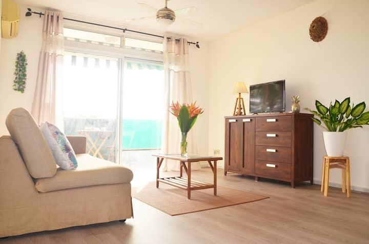 Appartement 1 Chambre, climatisé dans Papeete