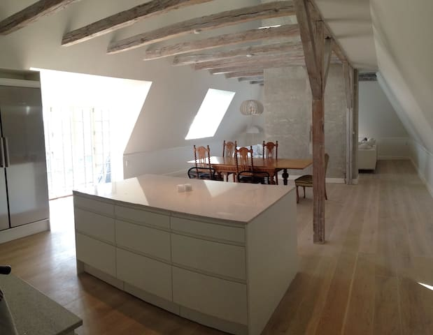 A spacious Penthouse in the best location - Gentofte - Departamento
