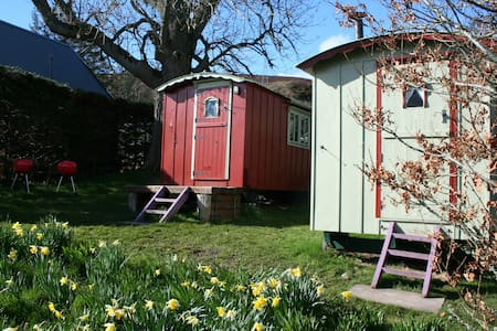 Balranald Shepherds hut(number one) - Highland - Cabana