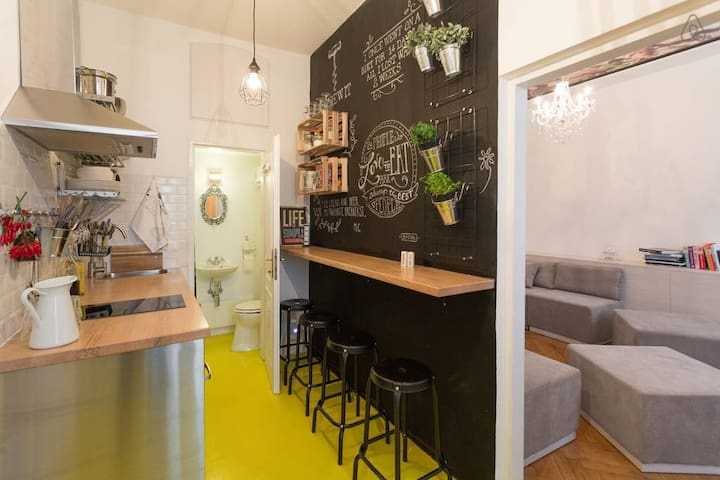 For the bold, chic and open minded - Wenen - Appartement