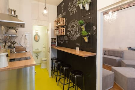 For the bold, chic and open minded - Vienna - Apartamento