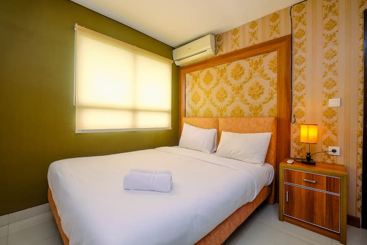 Comfy & Minimalist 1BR Apartment @ Atria Residence